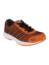 orange Mesh lace up sport shoe -  online shopping for Sport Shoes