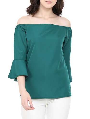 205f05d3cee19f Buy Off Shoulder Bell Sleeved Ruffle Top for Women from Vihi ...