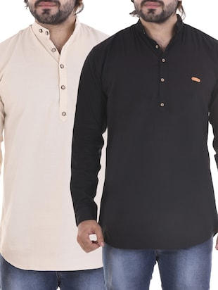multi colored cotton casual shirt (Set of 2)
