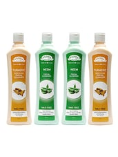 Aroma Secrets Turmeric And Neem Wax Free Cleanser Combo Pack-4 - By