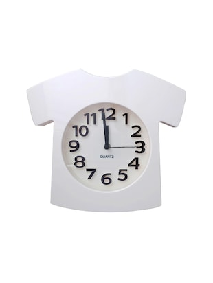 Super Drool White Sports T Shirt Table and Wall Clock