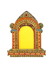 Royal Palace Window Wood And Clay Art Work Wall Photo Frame -  online shopping for Photo frames