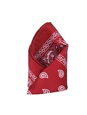 red polyester pocketsquare -  online shopping for pocketsquares