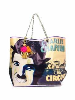 Charlie Chaplin Handbag - The House Of Tara