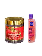 Pink Root Pomegranate Butter Cream (100gm) With Clean & Clear Morning Energy Face Wash Brightening Berry (100ml) Pack Of 2 - By