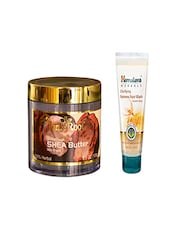 Pink Root Feather Touch SHEA Butter Cream (100gm) With Himalaya Clarifying Fairness Face Wash (100ml) Pack Of 2 - By