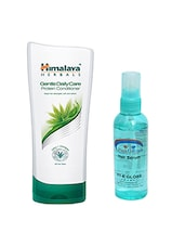 Pink Root Hair Serum & Himalaya Gentle DailyCare Protein Conditioner 400ML Pack Of 2 - By