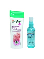 Pink Root Hair Serum & Himalaya Anti-Hair Fall Shampoo Prevents Hair Breakage 200ML Pack Of 2 - By