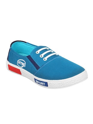 blue Canvas casual slipon