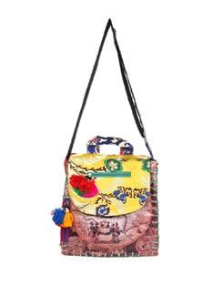 Multi Print And Pattern Bag - The House Of Tara
