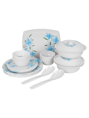 Pack of 32 Printed Premium Quality Melamine Dinner Set