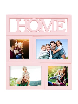 Set Of 4 Plastic Photo Frame By Story@Home