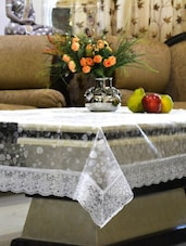 Transparent 3D Design Center Table Cover 6 Seater -  online shopping for Table Cloths