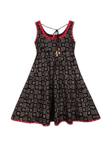 0e1b3e27b9fb Buy Black Cotton Frock for Women from Olele Kids Clothing for ₹1246 ...