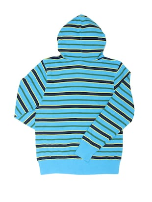 blue cotton sweatshirt - 14388550 - Standard Image - 2