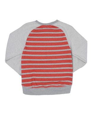 red cotton sweatshirt - 14388629 - Standard Image - 2