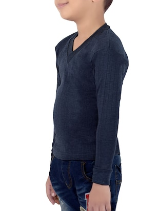 blue cotton thermal - 14412107 - Standard Image - 2