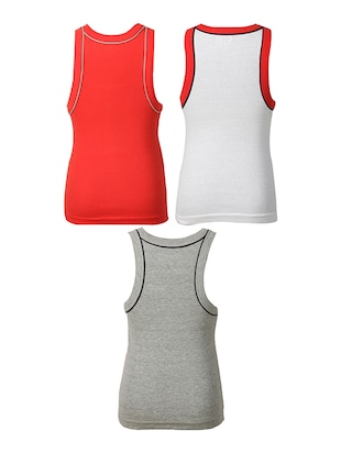 multi cotton vest - 14412386 - Standard Image - 2