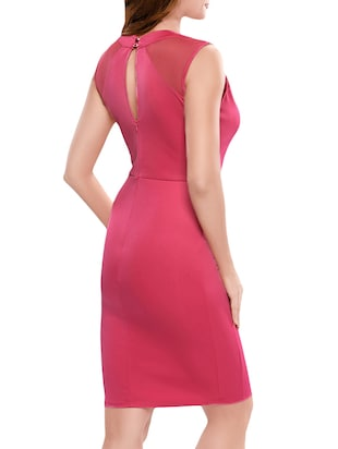 pink bodycon dress - 14414564 - Standard Image - 2