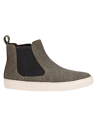 grey Canvas slip on sneaker - 14418074 - Standard Image - 2