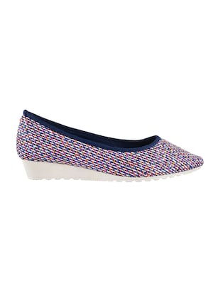 mutli colored  slip on ballerina - 14422390 - Standard Image - 2