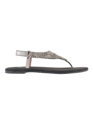 grey tpr back strap sandals - 14422465 - Standard Image - 2