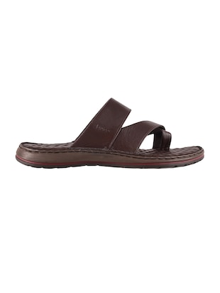 brown one toe sandal - 14422488 - Standard Image - 2