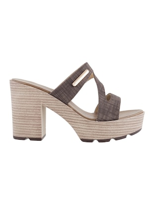 brown platforms sandal - 14422742 - Standard Image - 2
