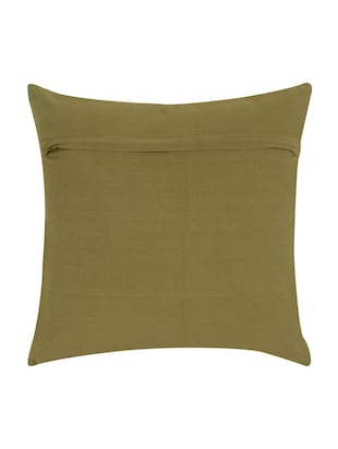 Cotton Single Rajasthani Traditional Cushion Cover By Rajrang - 14425294 - Standard Image - 2