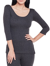 grey cotton tops thermals inner wear -  online shopping for Thermals & Inner Wear