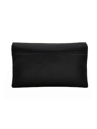 black leatherette sling bag - 14432479 - Standard Image - 2