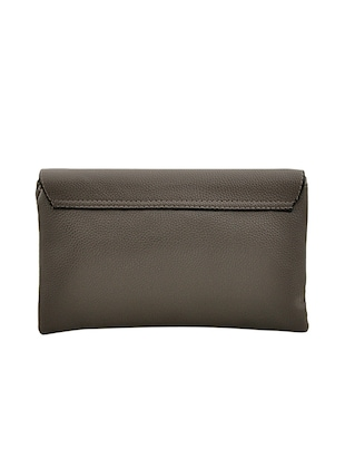 grey leatherette sling bag - 14432494 - Standard Image - 2