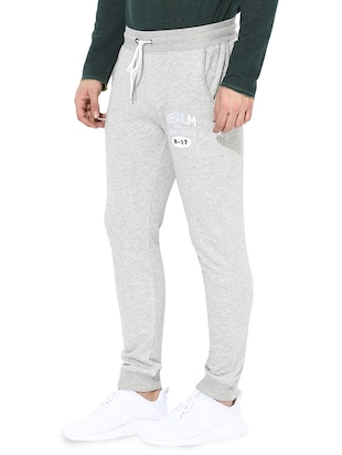 grey cotton joggers - 14433188 - Standard Image - 2