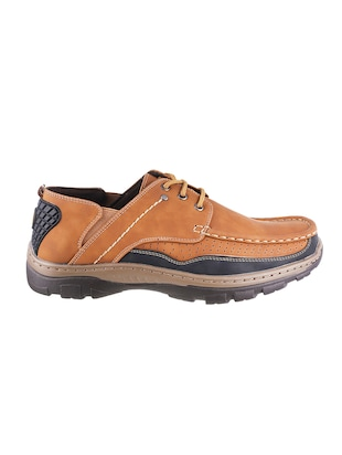 tan leatherette shoe - 14436950 - Standard Image - 2