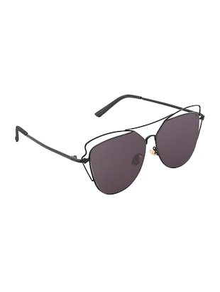 REACTR- New Arrival Brown Gradient Cat Eye HD Polarized Sunglasses For Women - 14438127 - Standard Image - 2