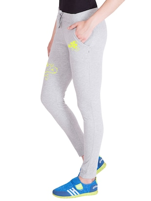 grey cotton track pants - 14439069 - Standard Image - 2