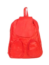 red cotton backpack -  online shopping for backpacks