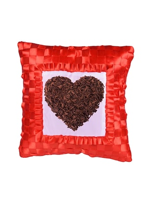 "Square Shape ""Heart shape"" Printed Cushions Cover - 14458554 - Standard Image - 2"