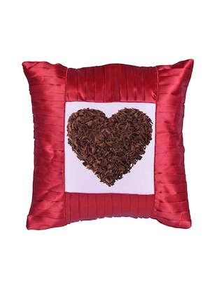 "Square Shape ""Heart shape"" Printed Cushions Cover - 14458555 - Standard Image - 2"