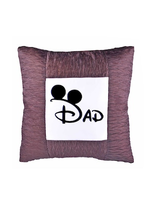 "Square Shape ""DAD print"" Printed Cushions Cover - 14458634 - Standard Image - 2"