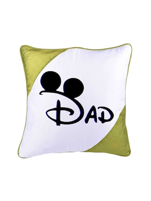 "Square Shape ""DAD print"" Printed Cushions Cover - 14458635 - Standard Image - 2"