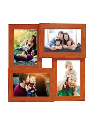 Pack of 3 Wooden Table Top & Wall hanging Frames - 14459500 - Standard Image - 2