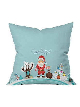 Polysilk Digitally Printed Single Cushion Covers - 14462399 - Standard Image - 2