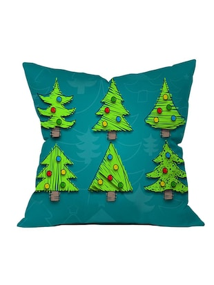 Polysilk Digitally Printed Single Cushion Covers - 14462434 - Standard Image - 2