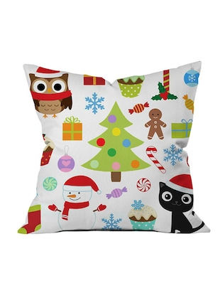 Polysilk Digitally Printed Single Cushion Covers - 14462441 - Standard Image - 2