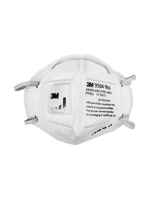 Pollution 3m 9504 N95 pack Filters Inv Clair Mask 3 Of