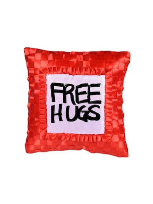 "Snoby ""Free Hugs"" Quoted Printed Cusion Cover - 14463603 - Standard Image - 2"