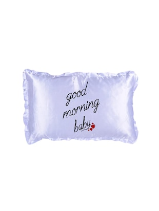 "Snoby ""Good Morning"" Quoted Printed Cusion cover - 14463676 - Standard Image - 2"