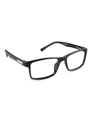 REACTR- Square Eyeglasses Premium Specs Full Frame Eyeglasses For Men (52|Clear|Rx-able|EL121-C1) - 14463999 - Standard Image - 2