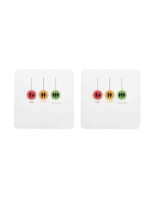 Set of 2 Coasters by Mooch Wale - 14465262 - Standard Image - 2